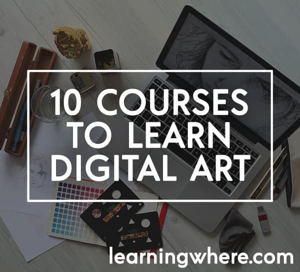 Top 10 Courses for Digital Art and Design (on Udemy